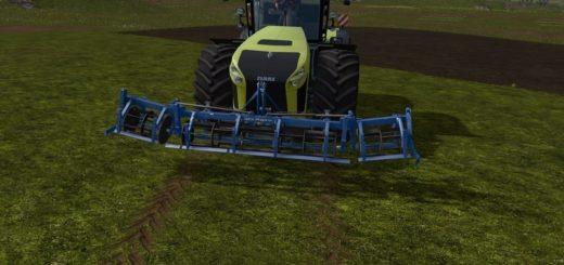 Мод культиватор Vss Front Cultivator v 1.0 Farming Simulator 17