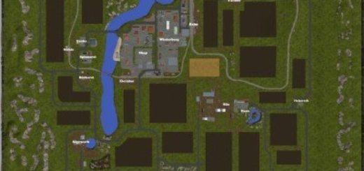 Мод карта Winterberg v1.0 Farming Simulator 2017