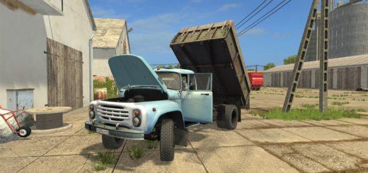 Мод грузовик ЗИЛ ZIL 130 Фарминг Симулятор 2017