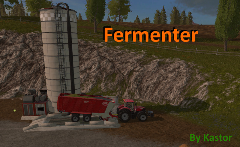 Мод Fermenter Silo Placeable v 1.2.0.1 Farming Simulator 17