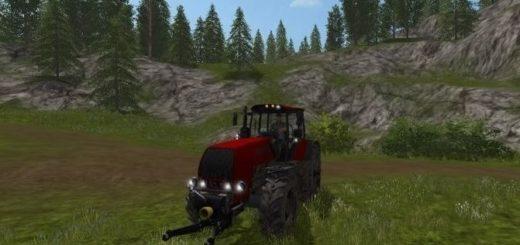 Мод трактор МТЗ MTZ 2522 v 1.0.0.0 Фарминг Симулятор 2017