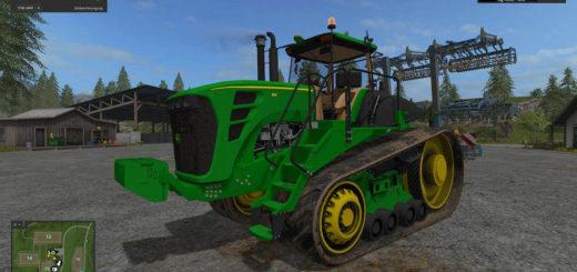 Мод трактор John Deere 9630T v 1.0 Farming Simulator 17