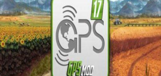 Мод FS17 GPS V5.01 RUS Farming Simulator 2017