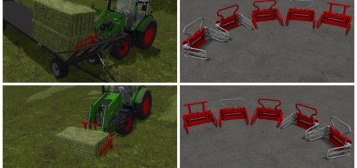 Мод KEMP BALECLAMP V1.0 Farming Simulator 2017