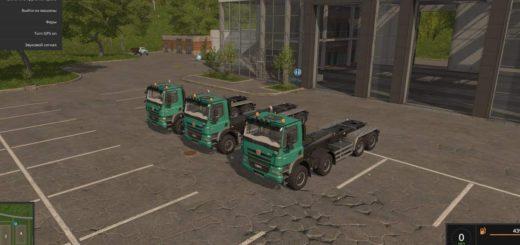 Мод грузовики Tatra IT Runner v 2.0 FS 17