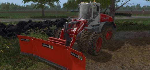 Мод погрузчик A Helmer Liebherr L 538 v 1.0.0 Farming Simulator 17