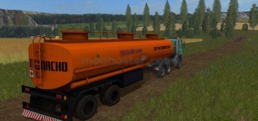 Мод прицеп Nefaz Fuel Tank v1.0 Фермер Симулятор 2017