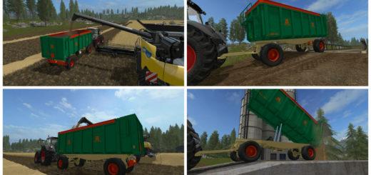 Мод прицеп Aguas Tenias GAT 20 v 1.0 Farming Simulator 2017