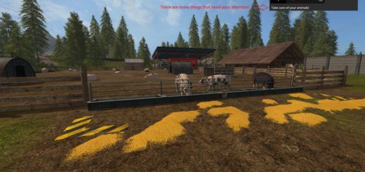 Мод скрипт Animal Notifications v 1.0 Farming Simulator 17