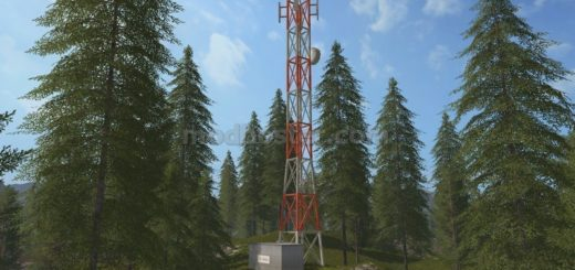 Мод Antenna v 1.0 Placeable Farming Simulator 2017