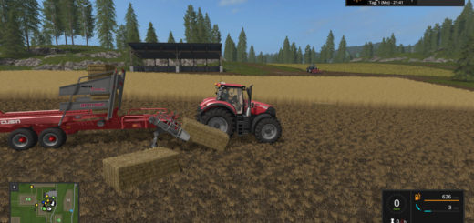 Мод прицеп Arcusin Autostack Pack v 1.0.2.0 FS 17