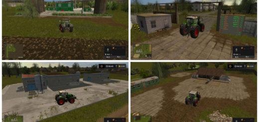 Мод карта Балдейкино BALDEYKINO V1.2 Farming Simulator 17