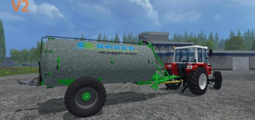 Мод бочка Bauer VB 60 Liquid manure spreader v 1.0 Farming Simulator 17