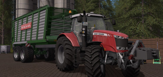 Мод прицеп Bergmann HTW 40 v 1.0 Farming Simulator 17