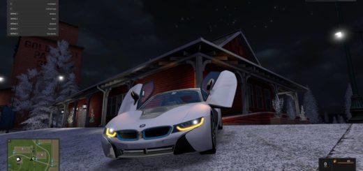 Мод авто BMW i8 v 1.0 FS 17