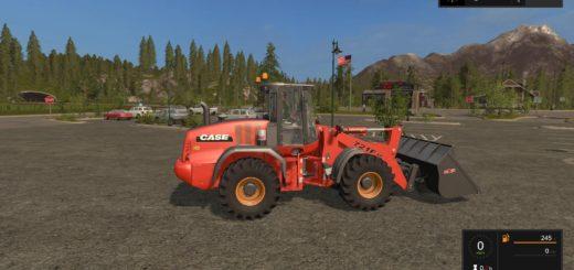 Мод погрузчик CASE 721F XR V2.0 Farming Simulator 17