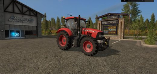 Мод трактор CASE MAXXUM 140 MC V2.0 Farming Simulator 2017