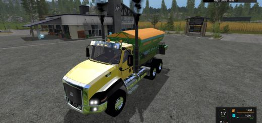 Мод CATERPILLAR CT660 SPREADER V1.0 Farming Simulator 17