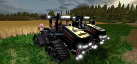 Мод трактор Case IH Quadtrac 620 v 2.0 Farming Simulator 17