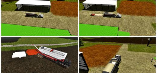 Мод прицеп Chandler 24 RDT v 1.0 Farming Simulator 17