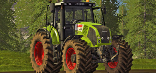 Мод трактора Claas Axion 800 (810 / 830 / 850) v 1.2 Farming Simulator 2017