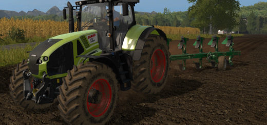 Мод трактор Claas Axion 900 v1.0 Farming Simulator 2017