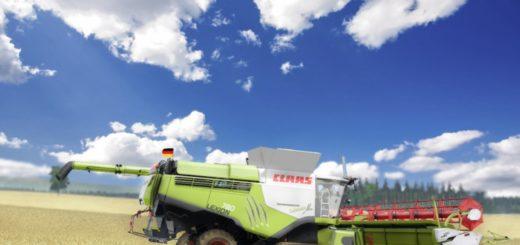 Мод комбайн Claas Lexion 780 TT Stage IV v 1.0 Farming Simulator 17