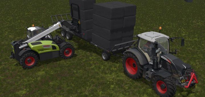 Мод погрузчик Claas Scorpion 7044 v 1.0 Farming Simulator 17