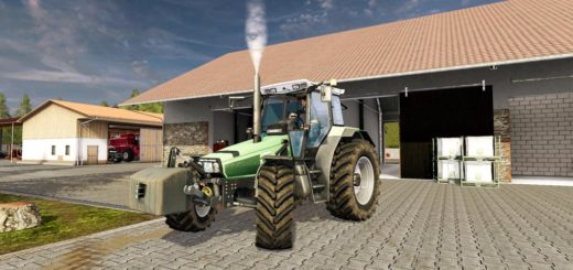 Мод трактор Deutz AgroStar 6.38 FS17