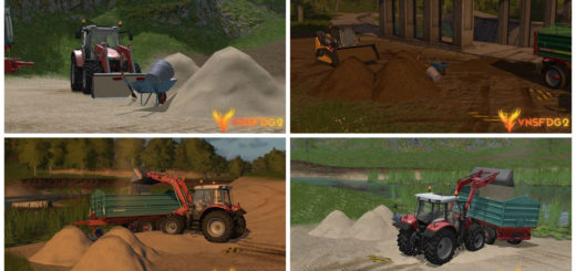 Мод Earth and sand v 1.1 beta Farming Simulator 2017