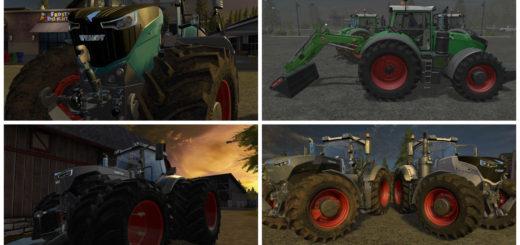 Мод трактор Fendt 1000 Vario v 1.5 Farming Simulator 2017