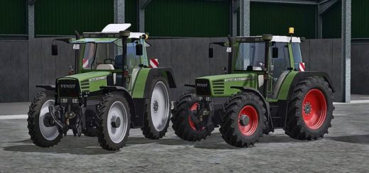 Мод трактор Fendt Favorit 512 C v 3.0 Farming Simulator 17