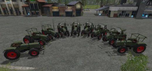 Мод ПАК тракторов Fendt Favorit pack v 1.0 FS 17