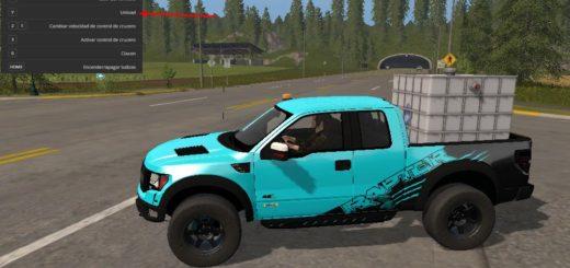 Мод Ford F150 Raptor Autoloader v 1.1 Farming Simulator 17