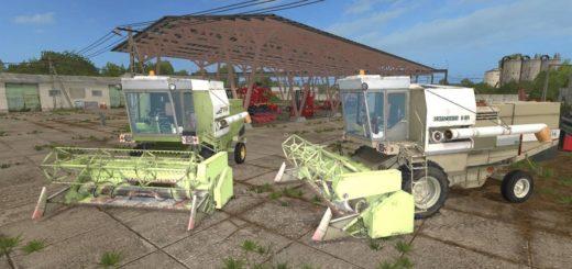 Мод комбайны FORTSCHRITT E-514 PACK V2.0 Farming Simulator 17