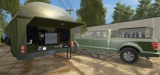 Мод прицеп Fuel Tank TZ 22 v1.0 Farming Simulator 17