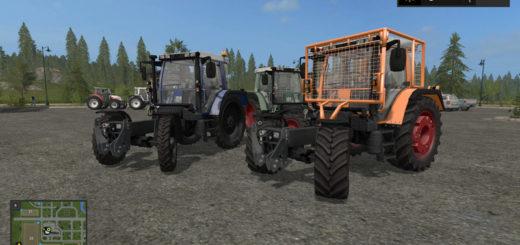 Мод трактора Fendt 380 GTA v 4.0 FS 17