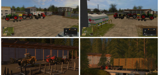 Мод трал Flatbed low loader v 1.0.0.0 FS 17