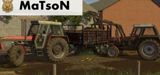 Мод трактор Fortschritt TO88 v 1.0 FS17