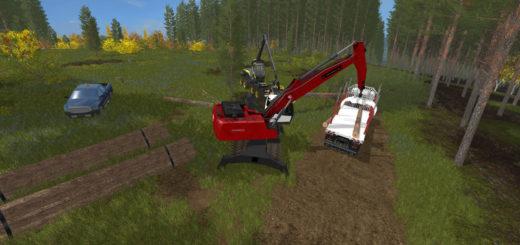 Мод Fuchs MHL 350 Short A Helmer V 1.0 Farming Simulator 17