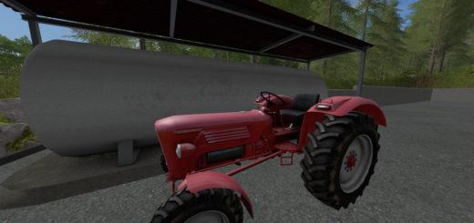 Мод трактор Gueldner G 40 A v 1.0 Farming Simulator 2017