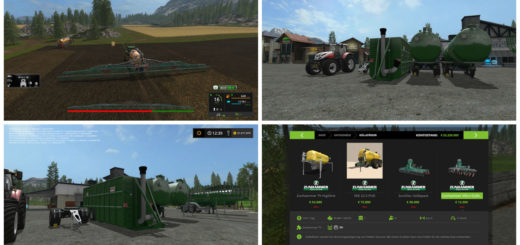 Мод ПАК Güllepack V1.0 Farming Simulator 2017