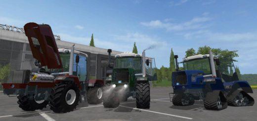Мод трактора ХТЗ HTZ 242K/243K/280T V3.0 Фарминг Симулятор 2017