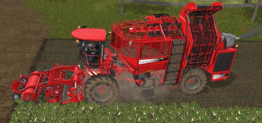 Мод комбайн Holmer Terra Dos T4-30 Farming Simulator 17