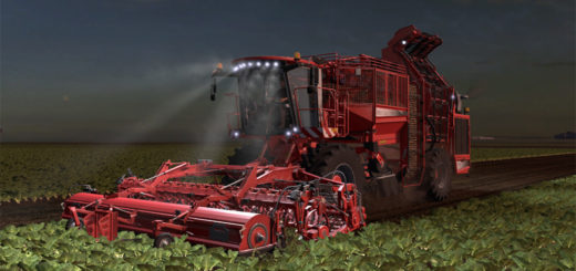 Мод ПАК Holmer Terra Dos T4 Pack v1.0 Farming Simulator 2017