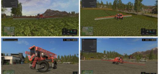 Мод опрыскиватель JACTO UNIPORT 3030 V1.1.0.0 Farming Simulator 2017