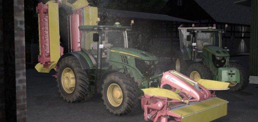Мод трактор John Deere 6250R v 1.0 Farming Simulator 17