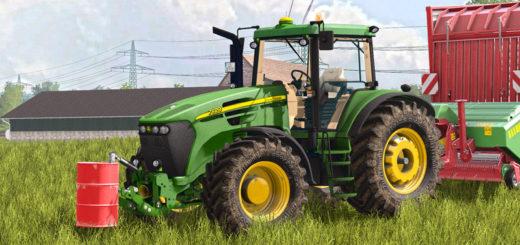 Мод трактор John Deere 7020 Serie v 1.0 FS17