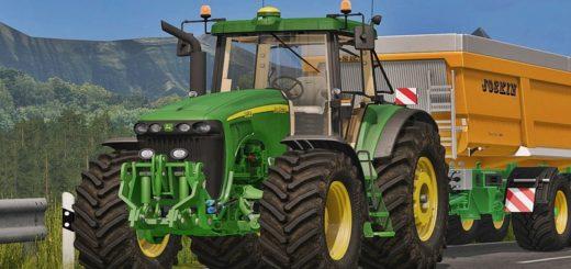 Мод трактор John Deere 8020 Serie v 2.0 Farming Simulator 2017