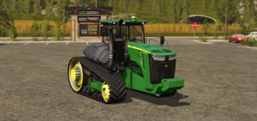 Мод трактор John Deere 9RT v 1.2 Farming Simulator 17